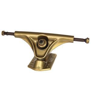 Подвески для скейтборда лонгборда 2шт.  Mission Gold 6 (22.2 см) Eastcoast. Цвет: желтый