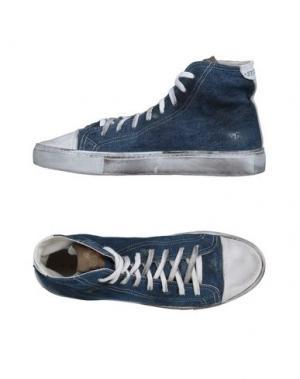 Высокие кеды и кроссовки STUDS WAR. Цвет: синий