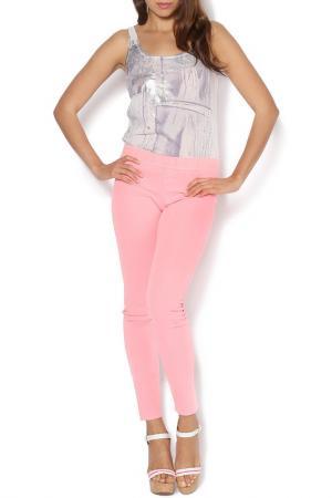 Леггинсы Deha. Цвет: розовый