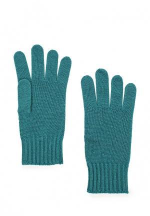 Перчатки United Colors of Benetton. Цвет: бирюзовый