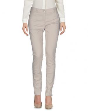Повседневные брюки REBEL QUEEN. Цвет: бежевый