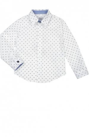 Рубашка Giorgio Armani. Цвет: белый