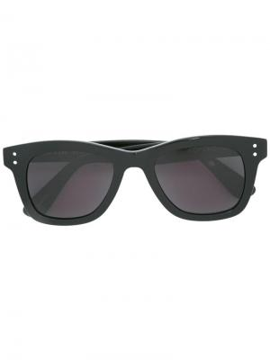 Square frame sunglasses Komono. Цвет: чёрный
