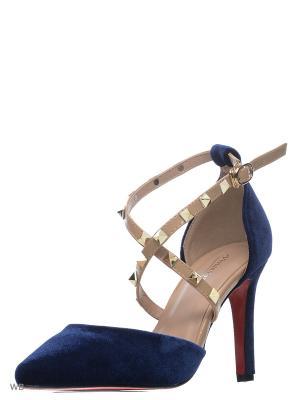 Туфли VIVIAN ROYAL. Цвет: синий