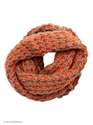 Снуд Venera. Цвет: оранжевый, серый