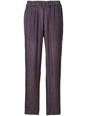 Куроченные брюки в полоску Mes Demoiselles. Цвет: многоцветный