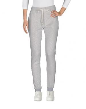 Повседневные брюки CAPOBIANCO. Цвет: светло-серый