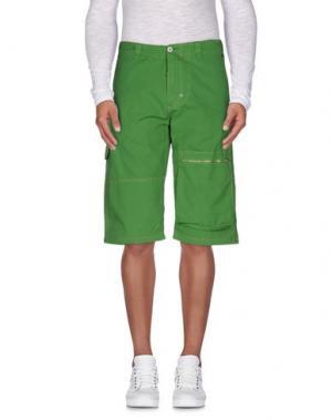 Бермуды J.W. BRINE. Цвет: зеленый