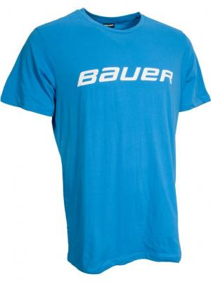 Футболка CORE SS TEE Bauer. Цвет: синий