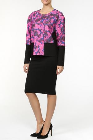 Пуловер Thakoon. Цвет: черный, розовый