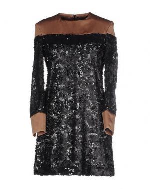 Короткое платье NINEMINUTES. Цвет: черный