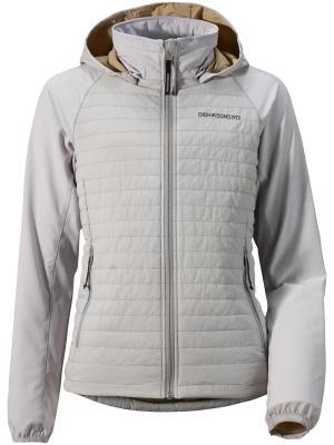 Куртка NIKKI DIDRIKSONS. Цвет: светло-серый