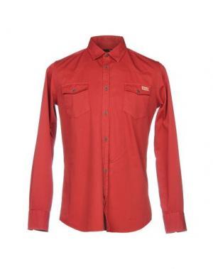 Pубашка DERRIÉRE. Цвет: красный