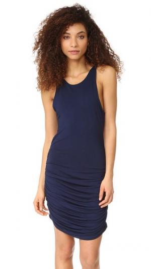 Платье Becky Young Fabulous & Broke. Цвет: чернильный