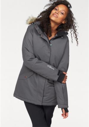 Горнолыжная куртка POLARINO. Цвет: зелено-синий, темно-серый, черный+черный