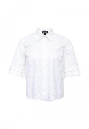 Блуза Just Cavalli. Цвет: белый