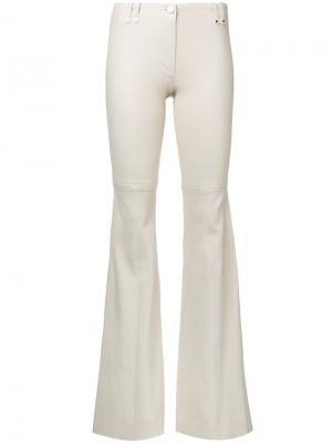 Расклешенные брюки Plein Sud. Цвет: коричневый