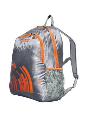 Рюкзак Стрэй 30 Nova tour. Цвет: серый, оранжевый