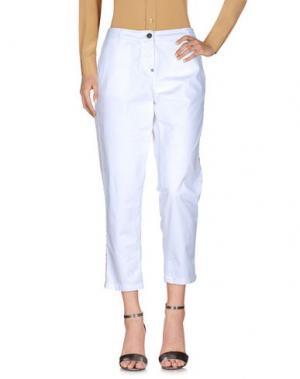 Повседневные брюки WHITE SAND 88. Цвет: белый