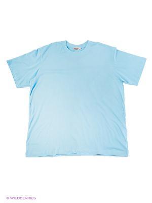 Футболка Original. Цвет: голубой