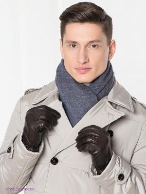 Перчатки MICHEL KATANA`. Цвет: темно-коричневый