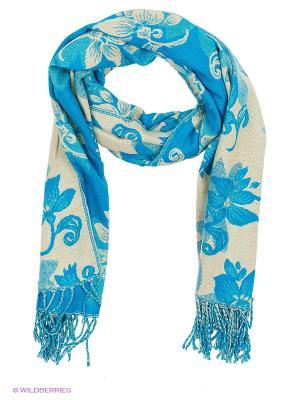 Платок Vita pelle. Цвет: голубой