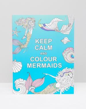 Books Книга Calm and Colour Mermaids. Цвет: мульти