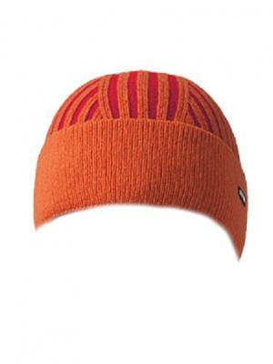 Шапка OXYGON. Цвет: оранжевый