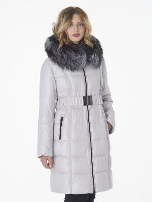 Пальто утепленное CATTAIL WILLOW. Цвет: белый