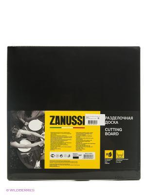 Разделочная доска 35Х35Х1,9 см черная Zanussi. Цвет: черный