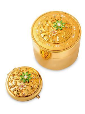 Подарочный набор золотой Win. Цвет: золотистый