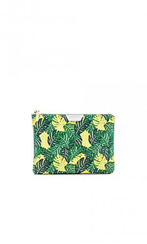 Клатч palmy FLYNN. Цвет: зеленый