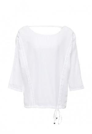 Блуза Gas. Цвет: белый