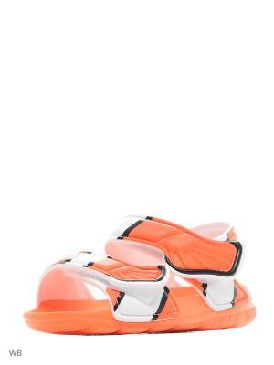 Сандалии дет. спорт. Disney Akwah 9 I  ORANGE/CBLACK/FTWWHT Adidas. Цвет: оранжевый, белый, черный