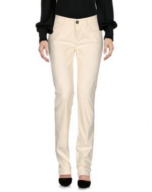 Повседневные брюки JECKERSON. Цвет: слоновая кость