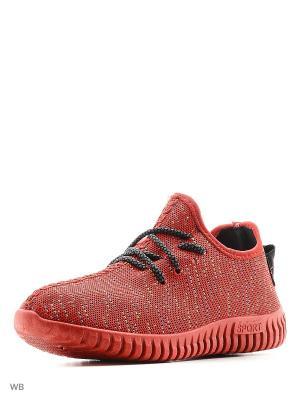 Кроссовки Litto. Цвет: красный