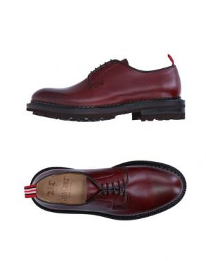 Обувь на шнурках GREEN GEORGE. Цвет: баклажанный