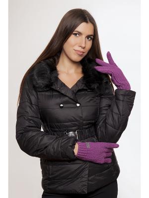 Перчатки Gaudi. Цвет: фиолетовый
