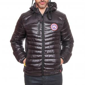 Стеганая куртка двусторонняя Bergame GEOGRAPHICAL NORWAY. Цвет: черный
