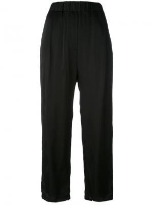 Укороченные брюки с заниженной проймой Damir Doma. Цвет: чёрный