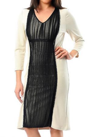 Платье Milanesse. Цвет: бежевый