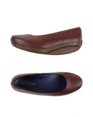 Туфли MBT. Цвет: темно-коричневый