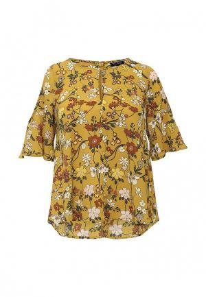 Блуза Topshop. Цвет: коричневый