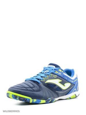 Футзальная Обувь DRIBLING Joma. Цвет: темно-синий, зеленый