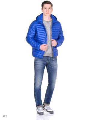 Куртка PEPE JEANS LONDON. Цвет: морская волна