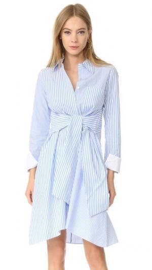 Платье в полоску Edition10. Цвет: синий/белый
