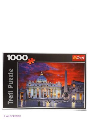 Пазл Базилика Святого Петра, Рим Trefl. Цвет: светло-серый