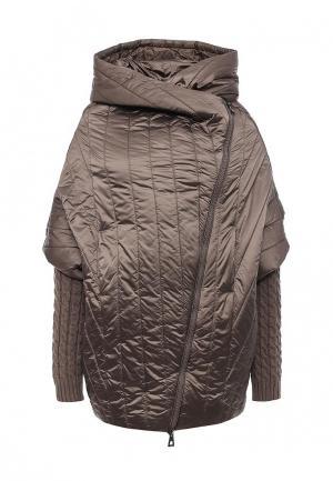 Куртка утепленная Conso Wear. Цвет: коричневый