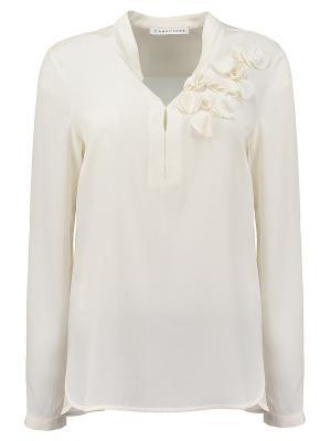 Блуза Caractere (ИТАЛИЯ) 2041A00130/1. Цвет: молочный