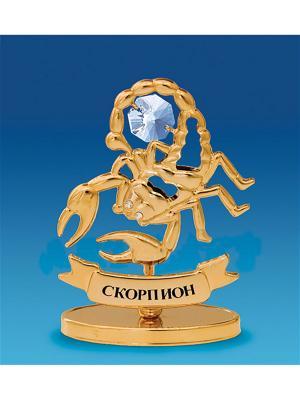 Фигура Знак зодиака Скорпион (Юнион) Юнион. Цвет: золотистый
